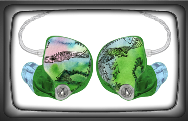 Screen capture of my custom artwork uploaded onto the 1964 EARS website previewer.